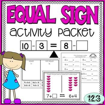 Equal Sign {NO PREP!} Activity Packet 1.OA.7