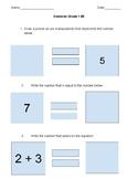 Equal Sign Quiz 1.5E