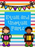 Equal and Unequal Parts Worksheet