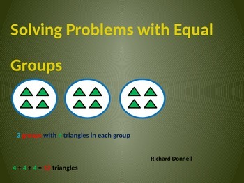 Equal groups
