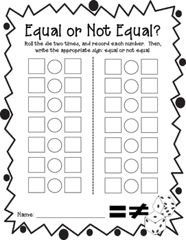 Equal or Not Equal