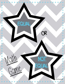 Equal or Not Equal Equations
