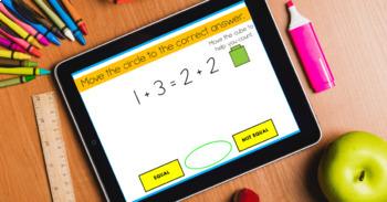 Number Sense SCOOT Task Cards Equal or Not