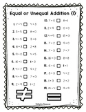 Equal or Unequal Grade 2