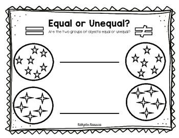 equal or unequal groups grade 2 by emma rathgeber tpt. Black Bedroom Furniture Sets. Home Design Ideas