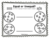 Equal or Unequal Groups Grade 2