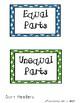 Equal or Unequal Parts Sort