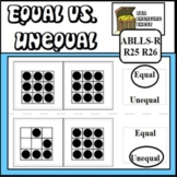 Equal vs. Unequal  ABA Use with ABLLS-R