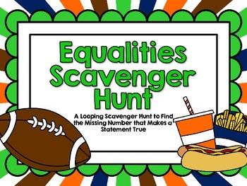 Equalities Scavenger Hunt