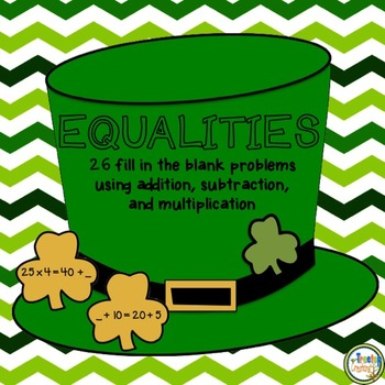 Equalities and Properties of Addition and Multiplication (March)