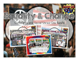 Equality & Change Bundle: Civil Rights & Social Protest Movements 1950's-1970's