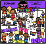 Equality Clip Art Bundle {Educlips Clipart} #kindnessnation