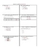 Equality Equations Activity Bundle