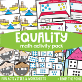 Equality {Math Activities Pack #15} Math Centers