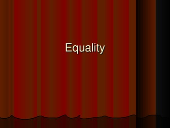 Equality PPT