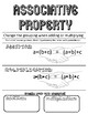 Equality Properties Creative Notes