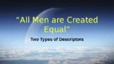 Equality Vocabulary Lesson