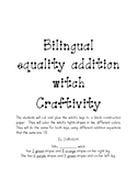 Equality addition witch craftivity
