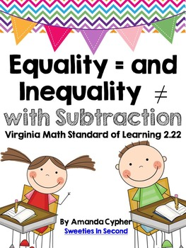 Equality and Inequality with Subtraction VA SOL 2.22