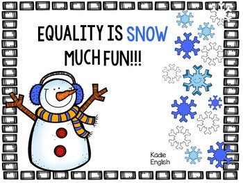 Equality is SNOW much fun