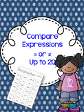 Compare expressions for equivalent or not equivalent