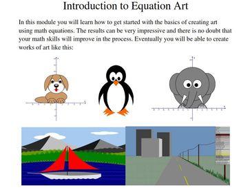 Equation Art - An Introduction