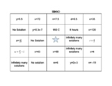 Equation BINGO
