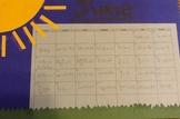 Equation Calendar Project