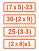 Equation Cards Grades 3-5