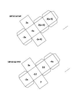 Equation Cubes