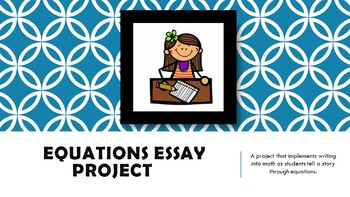 Equation Essay Project
