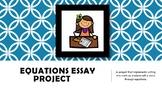 Equation Essay Project