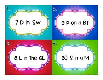 Equation Eureka: Critical Thinking Task Cards