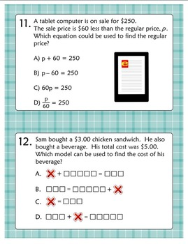 Equation Exploration - 6th Grade Equation and Inequality Concepts