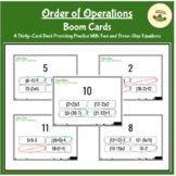 Order of Operations Center w/ Differentiation  (The Equation Express II)