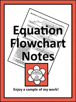 Equation Flowchart Notes