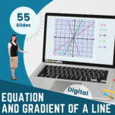 Equation & Gradient of a Straight Line - Grade 9, Grade 10, GCSE