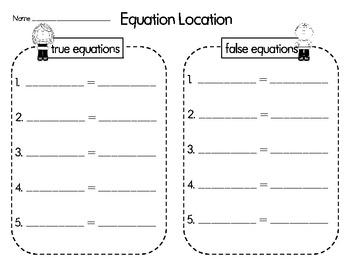 Equation Location Math Center