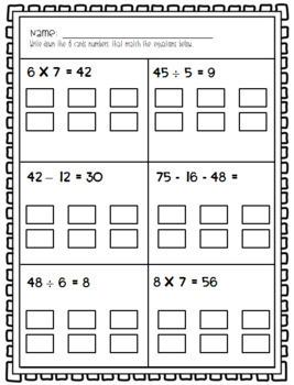Equation Match