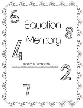 Equation Memory