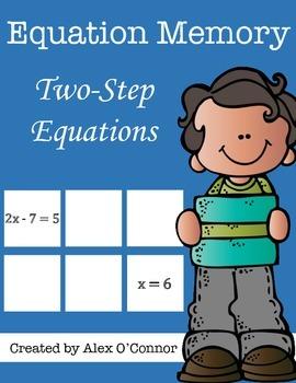 Equation Memory: Two-Step Equations