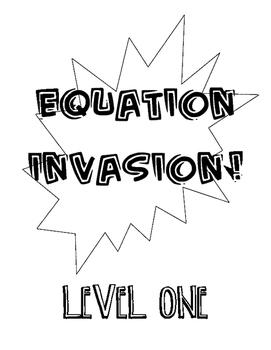 Equation Multi-Level File Folder Game