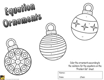 Ornaments To Color