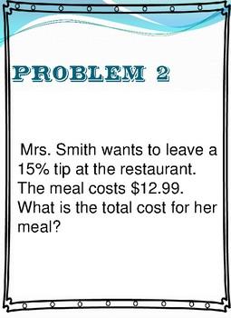 Equation  Part =% X Whole