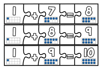 Equation Puzzles 0-10