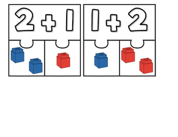 Equation Puzzles With Cubes 0-5