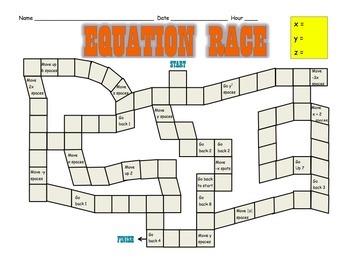 Equation Race