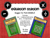 Equation Station Boggle for Math Bundle