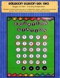 Equation Station Boggle for Math Set 2 Multiplication/Division