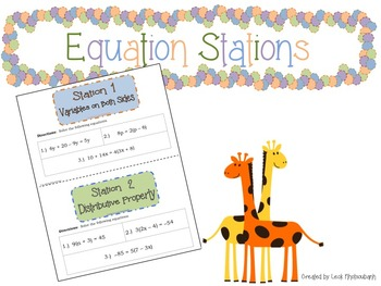 Equation Stations
